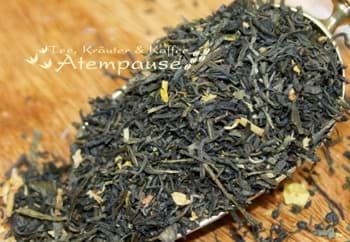 Bild von Grüner Tee Sencha Starfield
