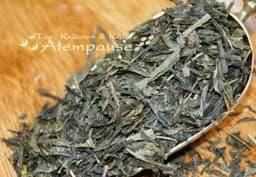 Bild von Grüner Tee Sencha Earl Grey