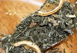 Bild von Grüner Tee Sencha Frische Zitrone mit Zitronenmelisse