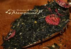 Bild von Grüner Tee Premium Sencha Peachberry