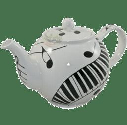 Bild von Dunoon Teapot Large Ebony & Ivory