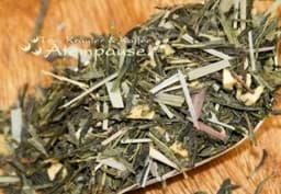 Bild von Grüner Tee Sencha Bottermelk Freche Zitrone