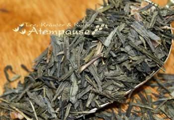 Bild von Grüner Tee Ginkgo