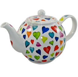 Bild von Dunoon Teapot Large Warm Hearts