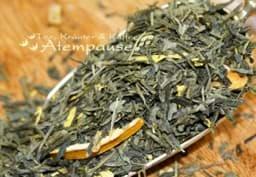 Bild von Grüner Tee Sencha Grünschnabel