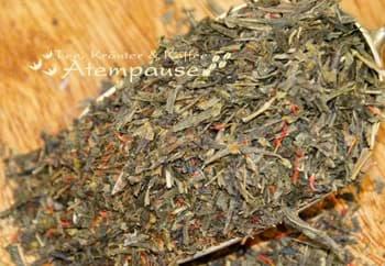 Bild von Grüner Tee Sencha Roter Ginseng