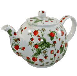 Bild von Dunoon Teapot Large Dovedale Strawberry
