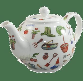 Bild von Dunoon Teapot Large My Garden