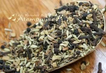 Bild von Kräuterteemischung Chai Pur ohne Aroma