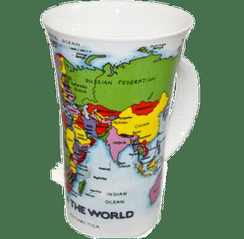 Bild von Dunoon Glencoe Map of the World