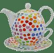 Bild von Dunoon Tea for one set Hot Spots, Bild 1