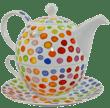 Bild von Dunoon Tea for one set Hot Spots