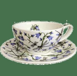 Bild von Dunoon Tea Cup & Saucer Set Dovedale Harebell