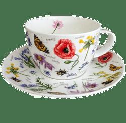 Bild von Dunoon Breakfast Cup & Saucer Set Wayside