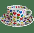 Bild von Breakfast Cup & Saucer Set Warm Hearts, Bild 2