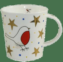 Bild von Dunoon Lomond White Christmas Robin