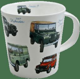 Bild von Dunoon Cairngorm Classic Collection Land Rovers