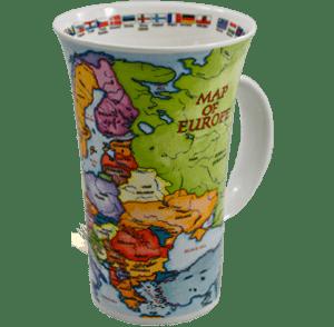 Bild von Dunoon Glencoe Map of Europe
