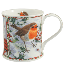 Bild von Dunoon Wessex Seasons Greetings Robin