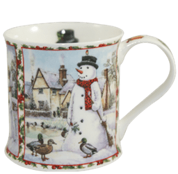 Bild von Dunoon Wessex Seasons Greetings Snowman