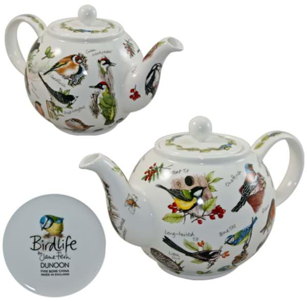 Bild von Dunoon Teapot Small Birdlife