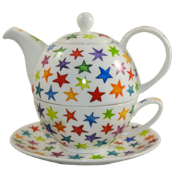 Bild von Dunoon Tea for one set Starburst