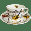 Bild von Breakfast Cup & Saucer Set Instrumental, Bild 1