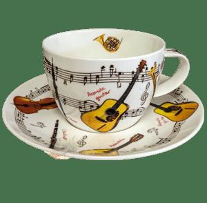 Bild von Breakfast Cup & Saucer Set Instrumental