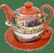 """Bild von Tea for one Set Keramik Dekor """"Watermill"""" Jameson & Tailor"""
