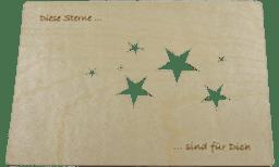 """Bild von Finkbeiner - Grußkarte """"Sterne"""""""