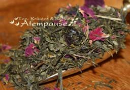 Bild von Grüner Tee Sencha Cranberry Orange Bio