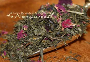 Bild von Grüner Tee Sencha Cranberry Orange natürlich