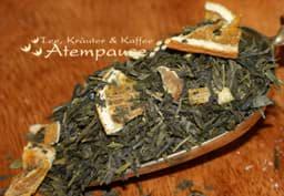 Bild von Grüner Tee Sencha Sweet Orange