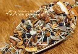 Bild von Früchtetee Apfeltraum® Moringa Granatapfel Himbeere