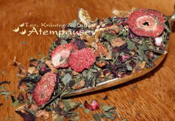 Bild von Früchtetee Sonnentee® Erdbeere liebt Minze