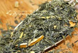 Bild von Grüner Tee Sencha Zitrone Ingwer Bio