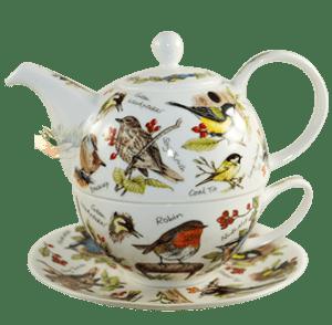 Bild von Dunoon Tea for one set Birdlife