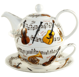 Bild von Dunoon Tea for one set Instrumental