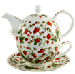 Bild von Dunoon Tea for one set Dovedale Strawberry