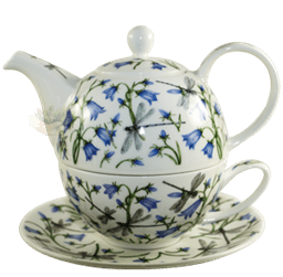 Bild von Dunoon Tea for one set Dovedale Harebell