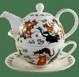Bild von Dunoon Tea for one set Pussy Galore