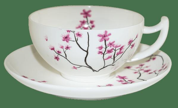 Bild von Espresso Tasse Kirschblüte 0,1l