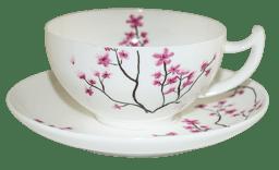 Bild von Teetasse Kirschblüte 0,18l