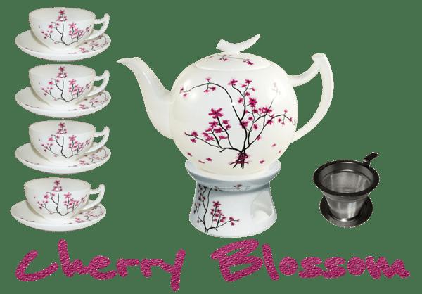 Bild von Teeservice Cherry Blossom von TeaLogic Small