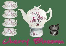 Bild von Teeservice Cherry Blossom von TeaLogic Medium