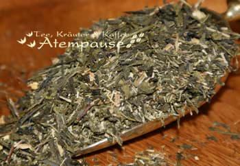 Bild von Grüner Tee Sencha Bergamotte natürlich