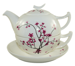 Bild von TeaLogic Cherry Blossom Tea for One Set