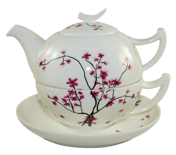 Bild von Tea for One Set Cherry Blossom