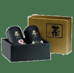 """Bild von Dosen Set """"Yoko"""", 100 g 2 fach in Geschenkbox"""