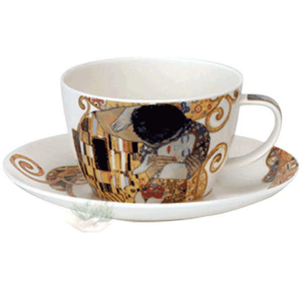 Bild von Breakfast Cup & Saucer Set Belle Epoque kiss